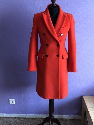 Zara Manteau rouge-rouge clair
