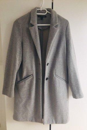 Zara Woman Wollen jas veelkleurig