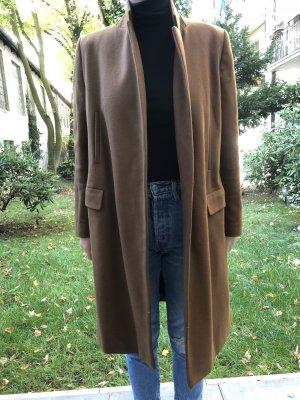 Zara Cappotto taglie forti marrone