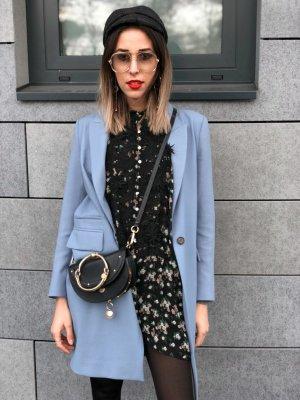 Zara Veste double bleu azur