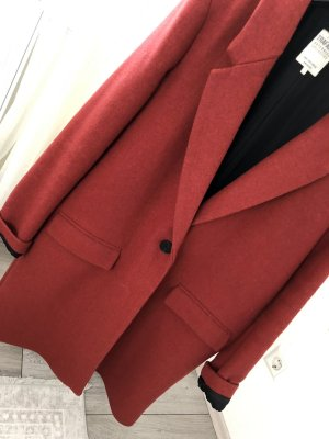 Zara Mantel in der Farbe rot