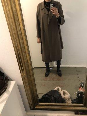 Zara Between-Seasons-Coat khaki