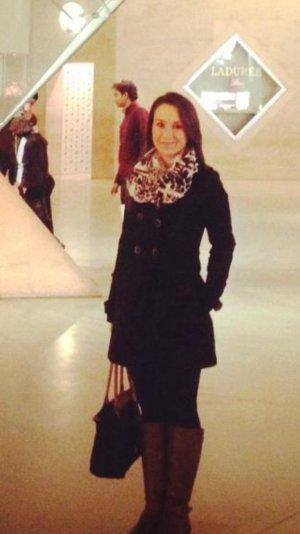 Zara Mantel in schwarz