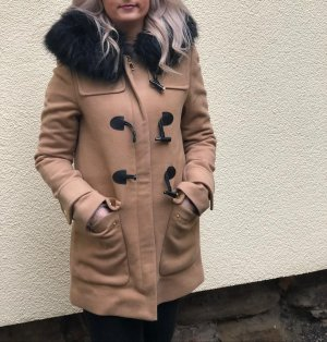 Zara Duffle-coat marron clair