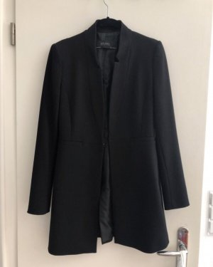 Zara Veste longue noir
