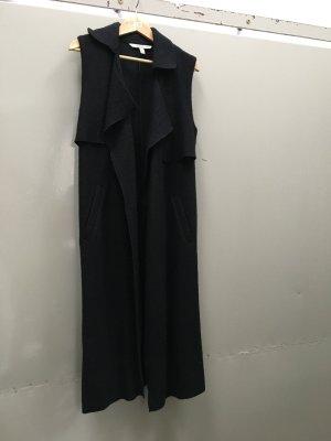 ZARA Mantel ohne Ärmel schwarz Gr. S Mantelkleid