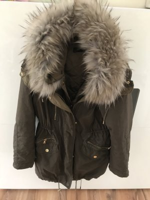 Zara Manteau d'hiver multicolore