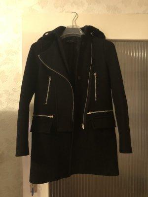 Zara Mantel schwarz in XS