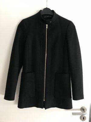 Zara mantel schwarz Xs