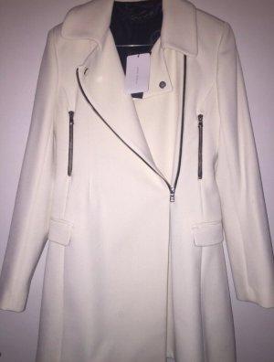 Zara Manteau matelassé blanc