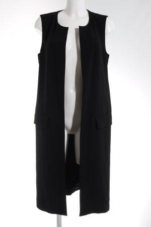 Zara Geklede jurk zwart elegant