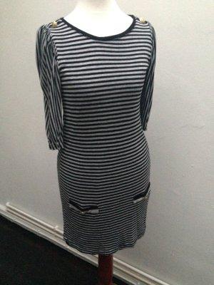 Zara marine Streifen Kleid Gr. XS 32 34