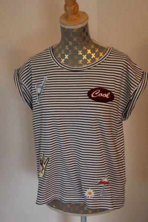 Zara  maritimes Shirt Gr. M