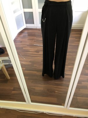 Zara Basic Marlene Trousers black polyester