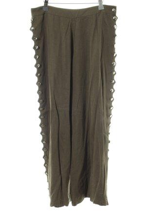 Zara Marlenehose khaki extravaganter Stil