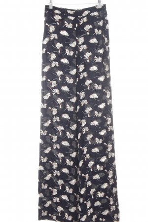 Zara Marlene Trousers flower pattern Boho look