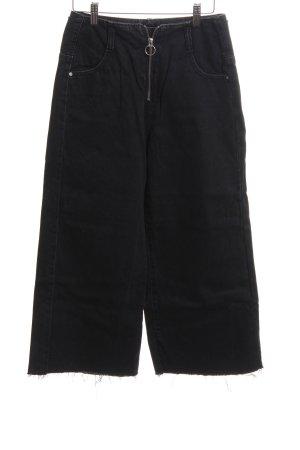 Zara Marlene jeans zwart straat-mode uitstraling