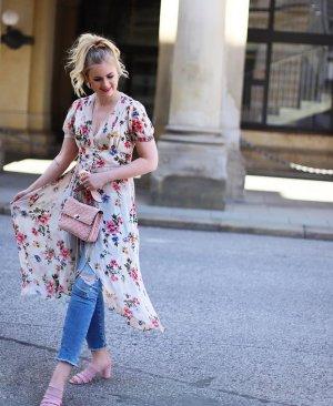 Zara Long Blouse pink