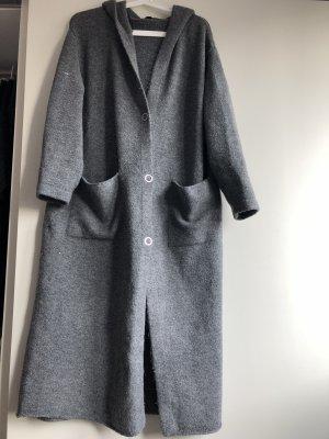 Zara maxi cardigan mit kapuze