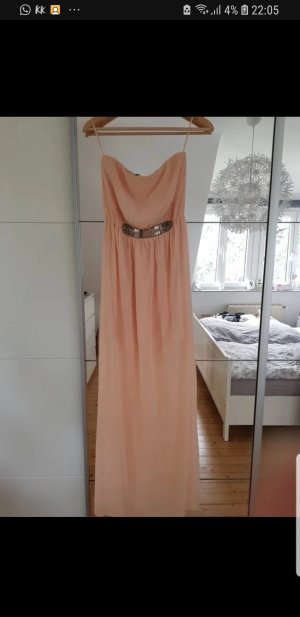 Zara Maxi Dress dusky pink-pink