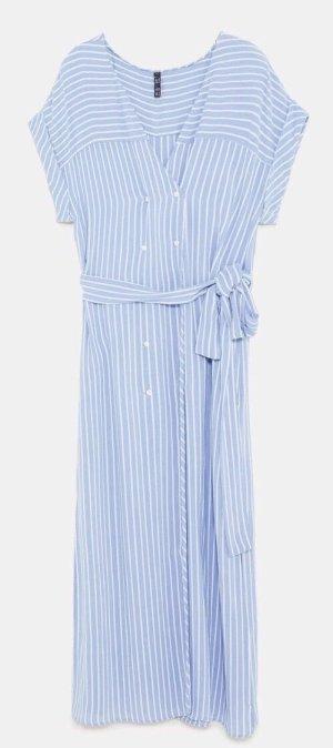 Zara Maxi kleid Gestreiftes Kleid
