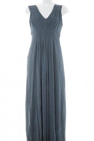 Zara Maxikleid graublau Abendkleid
