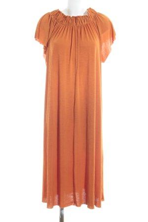 Zara Maxikleid orange Casual-Look