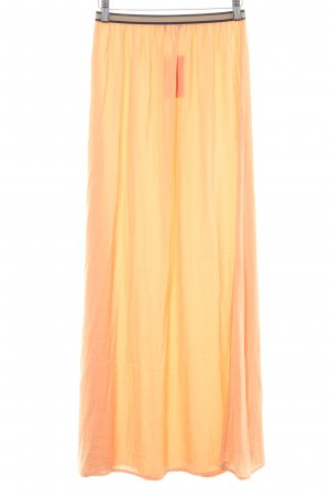 Zara Maxirock apricot Casual-Look