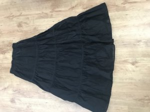 Zara Maxi Skirt black cotton