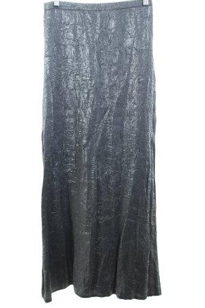 Zara Jupe longue argenté élégant