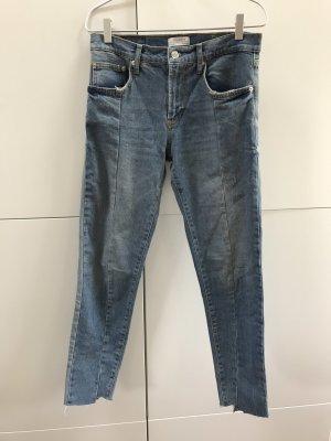 ZARA Mid-Rise Jeans mit mittelhohem Bund Gr. 36 / S - NEU und ungetragen!