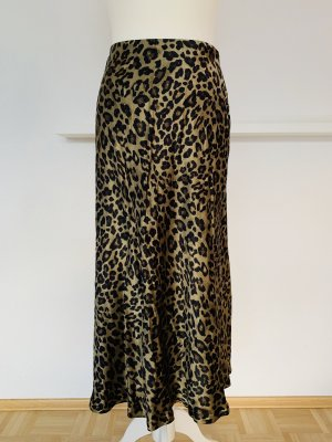 Zara Midi Rock Neu Leo Animal Print