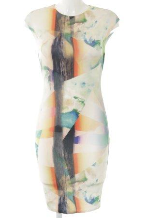 Zara Midikleid Farbverlauf Business-Look