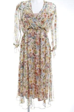 Zara Midikleid florales Muster Romantik-Look
