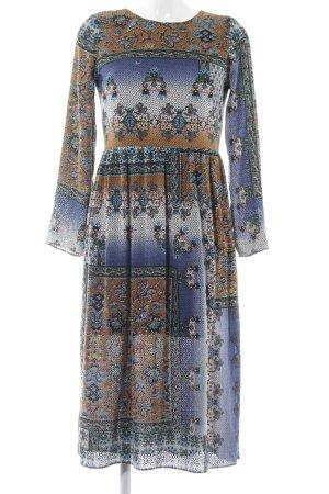 Zara Midi Dress embellished pattern Boho look