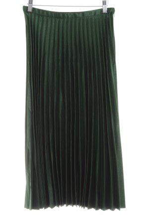 Zara Midirock dunkelgrün schlichter Stil
