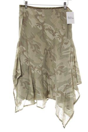 Zara Midirock khaki Camouflagemuster Casual-Look