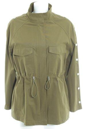 Zara Veste militaire vert olive style décontracté