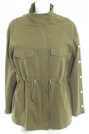 Zara Militaryjacke olivgrün Casual-Look