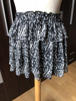 Zara Jupe noir-blanc