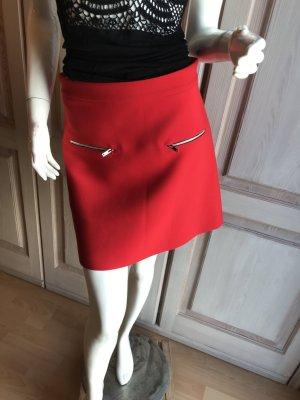 Zara Mini Rock rot Retro Style Sixties Seventies M