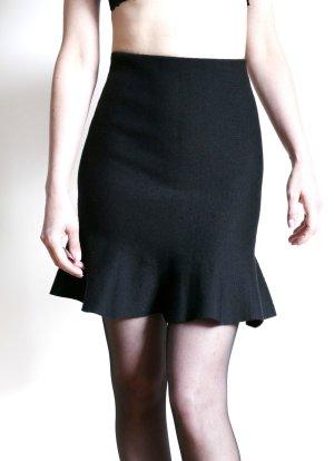 ZARA Mini Rock Stretch Volants Burlesque black – XS