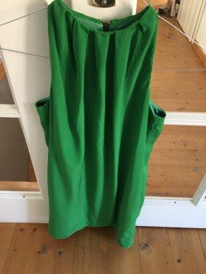 Zara Vestido de cuello Halter verde