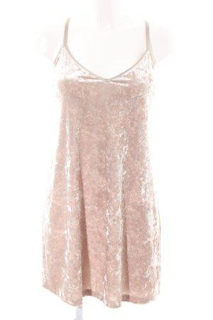 Zara Minikleid nude Elegant