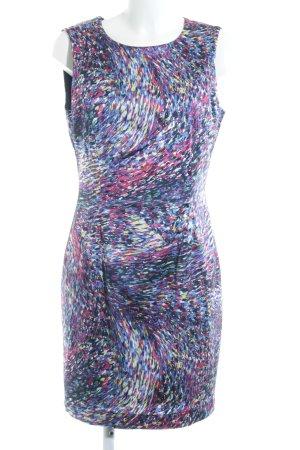 Zara Minikleid abstraktes Muster extravaganter Stil