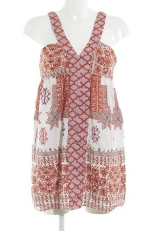 Zara Minikleid Aztekenmuster Boho-Look