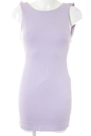 Zara Minikleid blasslila Party-Look