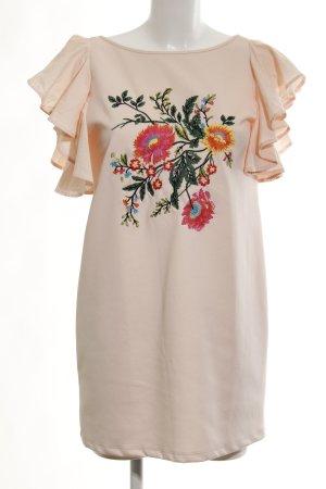 Zara Mini vestido estampado floral look casual