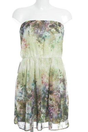 Zara Minikleid Blumenmuster Romantik-Look