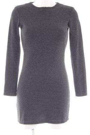 Zara Mini vestido gris oscuro estilo clásico